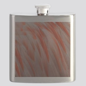 flamingo feathers Flask
